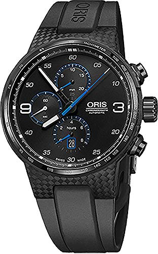 Oris Williams Montre chronographe en Fibre de Carbone pour Homme