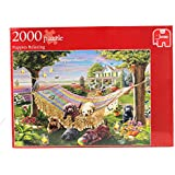 Jumbo Puppies Relaxing Jigsaw Puzzle (2000 Pieces)