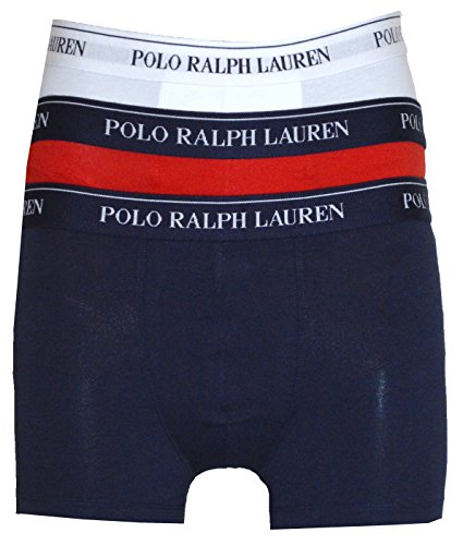 Ralph Lauren - Caleçon - Homme Multicolore White,Red,Navy Medium - Multicolore - XX-Large