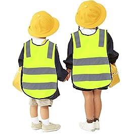 Ardorman Gilet di Sicurezza Catarifrangente per Bambini Giubbotto di Sicurezza Giubbotto Lungo la Strada Giubbotti di…