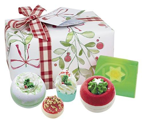 Bomba Cosméticos Christmas Wishes hecha a mano caja de regalo