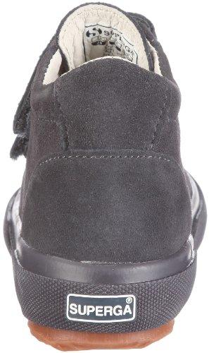 Superga 2718 Suevj Double Velcr, Chaussures montantes garçon Gris-TR-C3-104