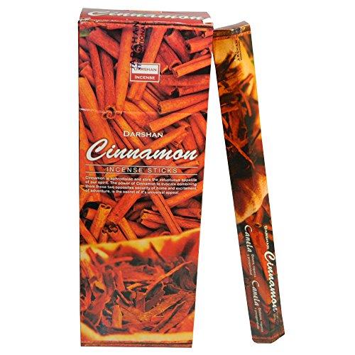 Räucherstäbchen Cinnamon 120 Sticks Zimt Duft 6 Schachteln Wohnaccessoire Raumduft Deko