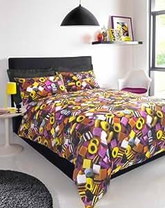 ccc online parure de lit bonbons cuisine maison. Black Bedroom Furniture Sets. Home Design Ideas