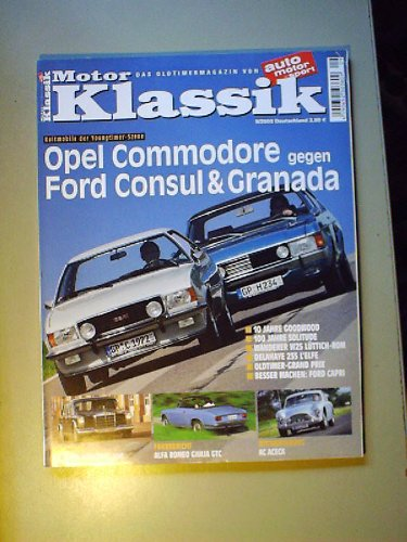 motor-klassik-9-2003opel-commodoreford-consul-granadamercedes-600alfa-romeo-giulia-gtc-ac-acecadelah