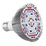 officematters (TM) 15W volles Spektrum LED Wachsendes Licht Glühbirne für Pflanzen, 78 pcs Glühbirnen für alle Phasen des Wachstums von Pflanzen Pflanzenlampen