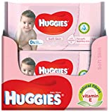 Huggies Baby Soft Skin Feuchttücher, 10 x 56 Tücher