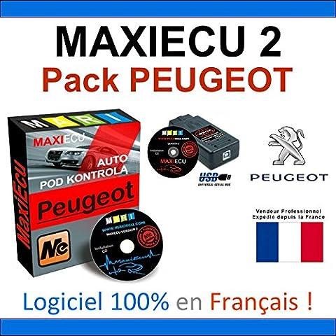 MaxiECU 2 + MPM-COM - Valise Diagnostic PEUGEOT - DIAGBOX