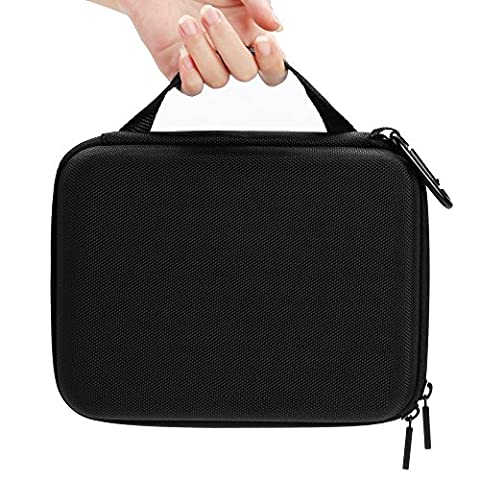 8.58'' x 2.53'' x 6.24'' Portable Shockproof Medium Case Organizer Protector for Gopro Hero 5/4/3+/3/2/1 &SJ4000 SJ5000 SJ6000 Xiaomi Yi and Accessories -Travel & Household Case with Excellent Cut Foam Interior -