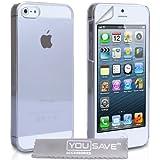 iPhone 5 / 5S Tasche Kristall Klare Harte H�lle