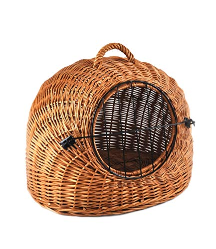 Cat dog small animals carrier Beautiful Rattan Basket pm24 K5 583