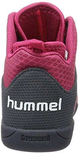 Hummel Unisex-Kinder Root Play Booty Jr Hallenschuhe Rot (Sangria)