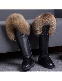 200 Para Mujer 500 Negro Zapatos Y Amazon es Eur Rojo aqwXznIx8