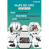NuPS DC UPS for Wi-Fi Router; Camera; ONT/Set-top Box (12V/1A)