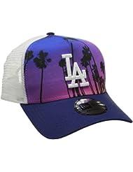 New Era la Dodgers West Coast Gorra, Hombre, Multicolor, Talla Única