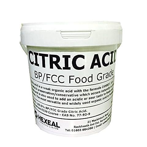 CITRIC ACID | 2.5KG BUCKET | 100% Anhydrous | BP/Food Grade | Additive, Bath, Brew