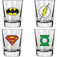 SD Toys – Set 4 Verres Shooter DC Classic – 8435450201967