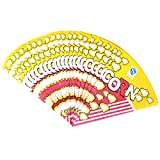 TOYANDONA Sacchetti di Carta del Popcorn del Cono di Carta dell'alimento 100pcs per l'ossequio Popcorn Candy