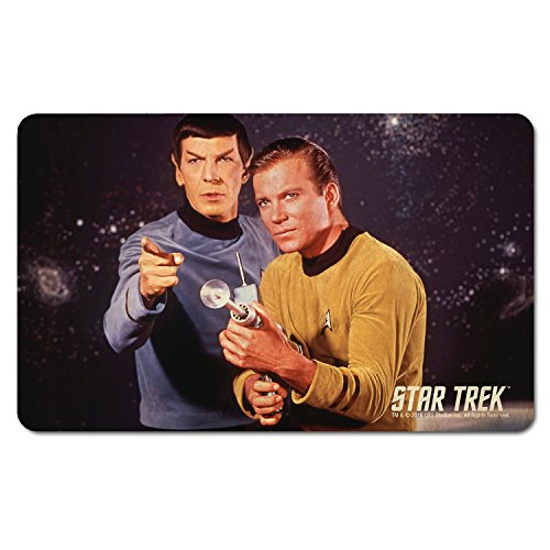 Star Trek - Frühstücksbrettchen - Captain Kirk & Captain Spock - The Original Series