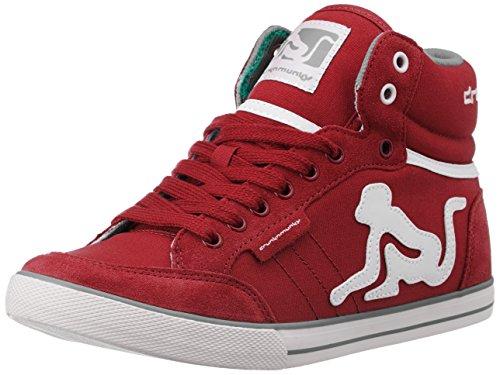 Drunknmunky Boston Classic 119 Red-grey Rosso