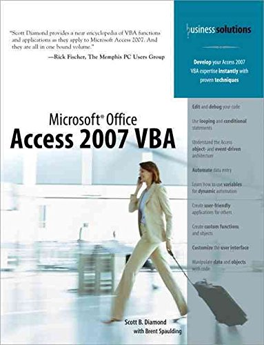[(Microsoft Office Access 2007 VBA)] [By (author) Scott B. Diamond ] published on (November, 2007)