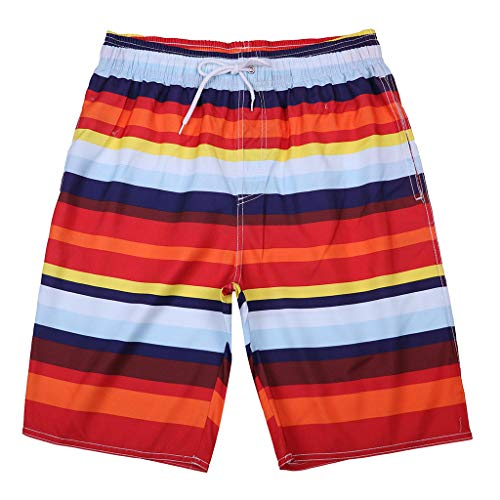 b78c396d59 Overdose Shorts Swimwear for Men Swimming Suit Quick Dry Swimming  Boardshorts Beach Shorts Striped Pants