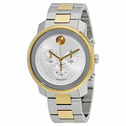 Movado Bold Reloj de hombre cuarzo suizo 44mm color dos tonos 3600432