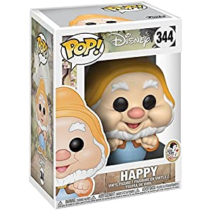 Funko Pop Feliz (Blancanieves 344) Funko Pop Blancanieves y los siete enanitos
