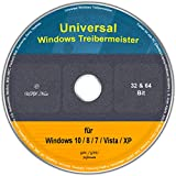 Universal Treiber-Meister für Windows 10 / 8 / 7 / Vista / XP (32/64 Bit) -