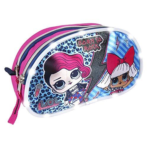 L O L Surprise! | Die Ultimative Handtasche Für Mädchen! | Super Coole Leuchtende Tasche | Mädchen Tasche | Reisetasche | Lunchpaket | Federmäppchen | Perfektes Geschenk! | ''Born To Rock'' Tasche! |