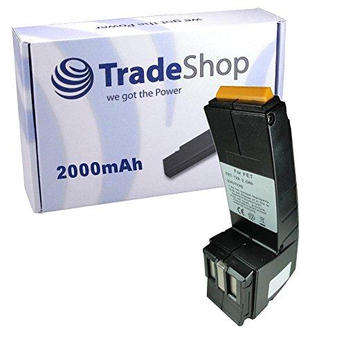 Trade-Shop Premium Ni-MH Akku 12V / 2000mAh für Festool Festo BPH-12 BPH-12-C C-12 FS-1224 BP-CDD-12 CDD-12-FX CENCC45Plus C-12-DUO CDD-12 CDD-12-E C-12-GG CCD-12-ESC