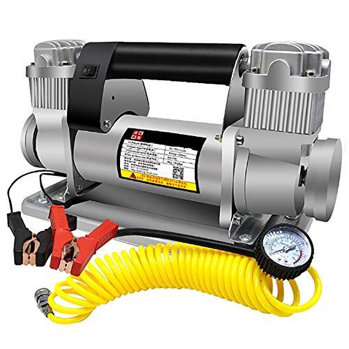 XPZ00 12V Auto Luftpumpe Doppelzylinder 480W Hochleistungs-LKW für Off-Road-Truck