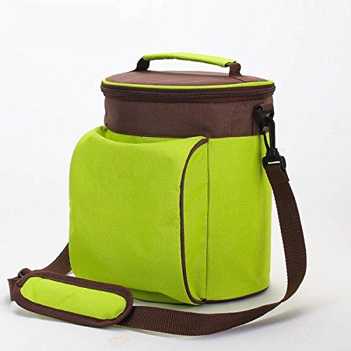 Multifunktionale Kühltasche Außenpicknicktaschen Trommeln Portable Gekühlter Eisbeutel Campingnahrungsmittelbeutel