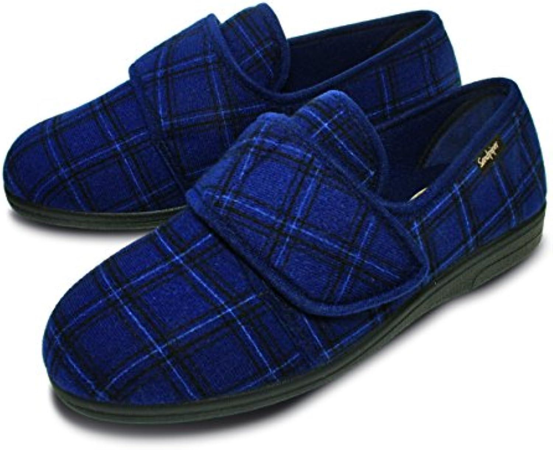 Mr.   Ms. Sandpiper Pantofole Uomo Blu Blu Blu blu Prezzo pazzesco vero Prodotto generale   In vendita  ad1ed3