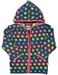 Kite Girl's Flowery Fleece Jacket