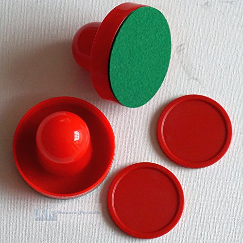 Replacement Pucks Pushers Air Hockey Table - 2 x 50mm Pucks & 65mm Pushers