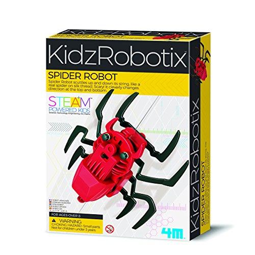 4M 00-03392 KidszRobotix-Spinnen Roboter Spielzeug, Bunt