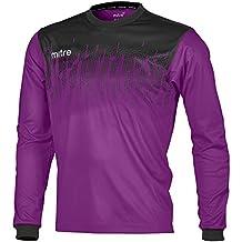 Mitre Command Goalkeeper Camiseta de Fútbol, Unisex Adulto, Púrpura, ...