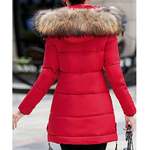HKFV - Canotta - Moda -  donna Red L