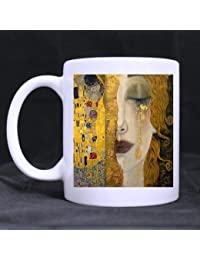 Novelty Gifts Presents Gustav Klimt Women And The Kiss Tea/Coffee/Wine Cup 100