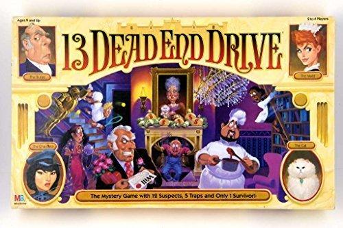 13 Dead End Drive Board Game by Milton Bradley by Milton Bradley