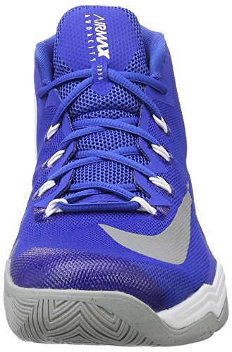 Nike Air Max Audacity 2016, Chaussures de Sport-Basketball Homme Azul (Game Royal / Reflect Silver-White)