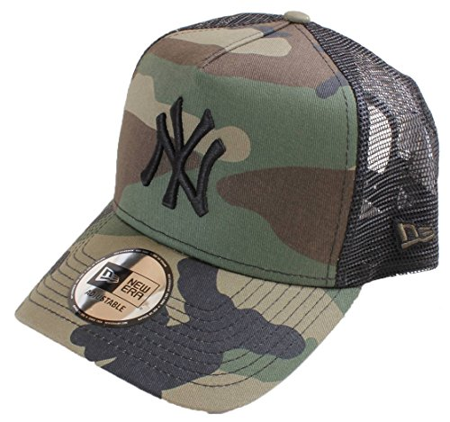 New Era NY Yankees Clean Trucker Cap