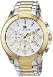Tommy Hilfiger Mens Quartz Watch, multi dial Display and Stainless Steel Strap 1791226