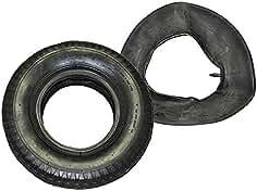 4 neumáticos cubierta cubierta rueda de repuesto con manguera para todas las carretillas comunes 4,