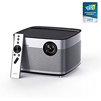 "XGIMI H1 Immersive Home Theater"" 1080P 3D 900ANSI Lumens Projector with Harman Hardon Stereo"