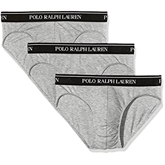 Polo Ralph Lauren 3 Pack LOW Rise Briefs, Calzoncillos para Hombre