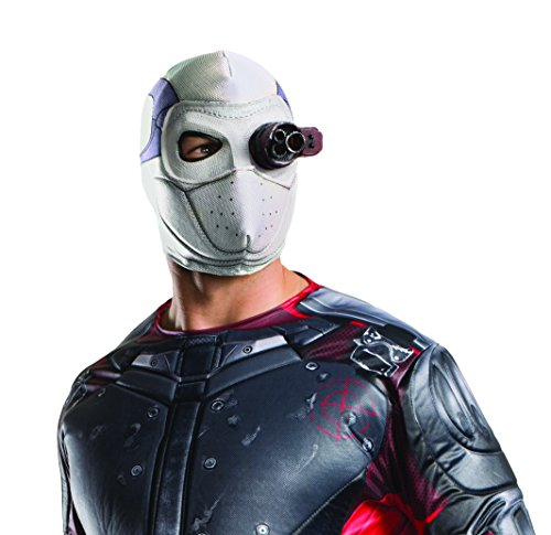 DeadShot Leuchtende Maske Suicide Squad Will Smith DC Schurken Superheld Film