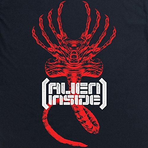 Official Alien: Covenant Hugger Inside Langarmshirt, Herren Schwarz