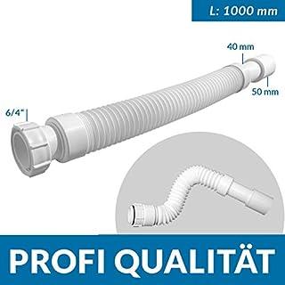 Mc Alpine Flex-Ablaufschlauch, Länge: 1000 mm, 6/4 x 40/50mm